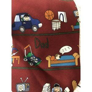 Save The Children Neck Tie Dad Father Dad's Hobby